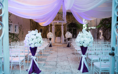 Outdoor weddings in Miami are amazing