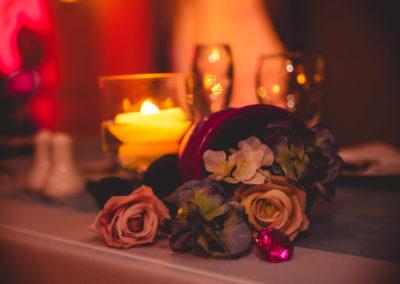 Beautiful wedding decorations near Miramar